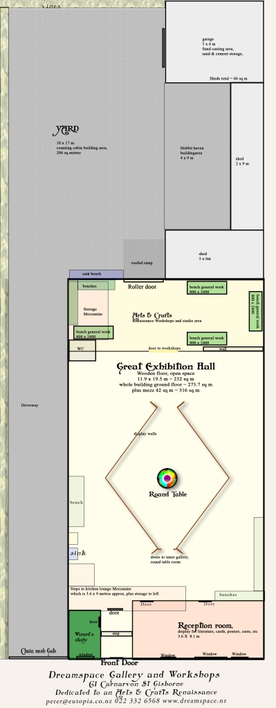 Dreamspace Gallery ground and total floor plan copy